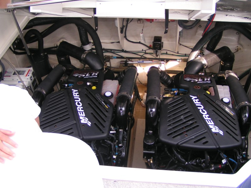 Twin Mercruiser Horizon 8.1L (Chevy Big Block 454)