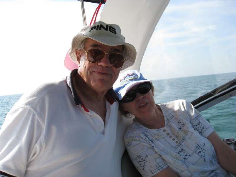 My dad and his wife, Janine, July 2008